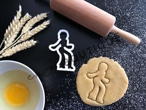 Disco Dancer Cookie Cutter 01 | Fondant Cake Decorating | UK Seller