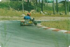 Carte Karting 2 roues go kart sport automobile trading card