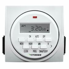 Vivosun 7 Day Programmable Digital Timer Switch with 2 Outlets