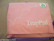 Leapfrog  Leappad   with 6 books and 6 cartridges and nice pink bag