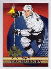 VITALI YACHMENEV 1995-96 Pinnacle Zenith ROOKIE ROLL CALL Foil SP #11 RARE!!