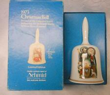 Beautiful Vintage 1973 Limited Edition Hummel Christmas Bell West Germany In Box