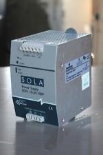 Sola SDN 10-24-100P Din Rail Power Supply 24vdc 10a 24-28v 115/230vac 5.0/2.0a