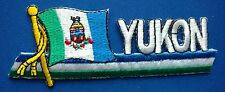 Yukon Flag Patch Embroidered Iron On Applique