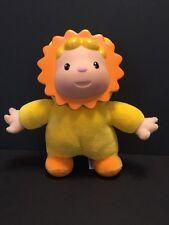 Smoby Cotoons Plush Flower Doll Yellow Orange 2002 Pineau & Le Porcher