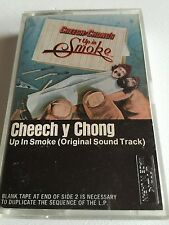 CHEECH Y CHONG UP IN SMOKE ORIGINAL SOUNDTRACK RARE USA CASSETTE TAPE ALBUM A1