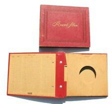 2 Vintage 45 RPM Records & Album Storage Book Binder