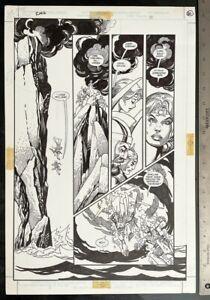 GIL KANE RING OF NIBELUNG #2 1990 RICHARD WAGNER ORIGINAL ART LARGE