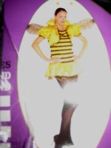 womens bumble bee costume uk size large  complete
