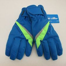 WaterProof Ziener Ladies Ski Gloves TOSIMA # 7.0 M Blue Green AquaShield Womans