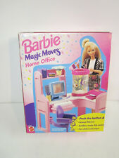 Barbie doll Magic Moves Home Office furniture set mattel new