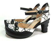 TIGGERS Spangen Pumps Leder Schuhe schwarz weiß Gr. 36 NEU   Art.003