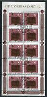 Bund KB 1065 gestempelt ESST Bonn Kleinbogen Tag der Briefmarke BRD 1980 used