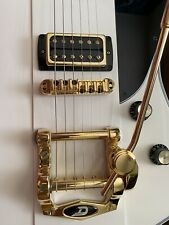 Duesenburg Tremolo Bigsby Style Gold & Adapter Plate
