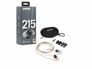 Shure SE215 CLE Auricolari In Ear Monitor ad isolamento acustico