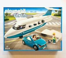 Playmobil 9504 - Privatjet mit Cabrio (Passagierflugzeug, Pilot) - NEU !!!