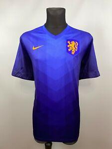 HOLLAND 2014 2015 AWAY SHIRT NEDERLAND FOOTBALL SOCCER JERSEY MENS NIKE SIZE XXL