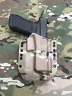 Multicam Kydex Holster for Glock 17 22 31 Threaded Barrel