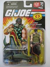 2008 GI Joe Cobra Reptile Trainer Croc Master 25th Anniversary NEW