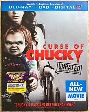 Curse of Chucky Blu-ray (Unrated) disc only w/ case slipcover *NO DVD NO DIGITAL