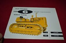 Allis Chalmers HD-6 Crawler Tractor Dealer Brochure YABE11 Ver42