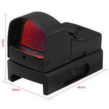 Tactical Mini Holographic Dot Reflex Sight Scope Light Adjustable Brightness Hot