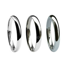 2mm 950 Palladium Wedding Rings Court Comfort UK Hallmarked Heavy X Heavy Bands