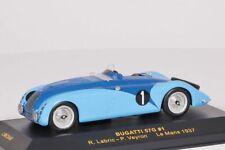 Bugatti 57G #1  Le Mans 1937  R.Labric - P.Veyron IXO 1:43 NEU OVP LMC040