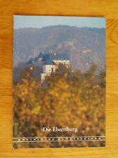Rheinische Kunststätten Heft 299 1985 Die Ebernburg