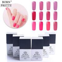 10ml Soak Off Nail Gel Polish UV LED Varnish Manicure Pink Colors Born Pretty