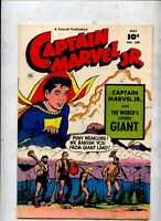 CAPTAIN MARVEL Jr 109  Golden Age fawcett comic