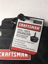 Craftsman  Small Parts Organizer, Tote Bag  6 inside pockets MFG #: 934511