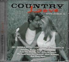 Country Love Volume 2 - Various Artists (2000 CD Album)