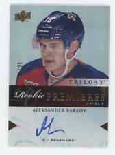 Aleksander Barkov 2013-14 Upper Deck Trilogy LEVEL 3 ROOKIE PREMIERES AUTO /25