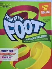 Fruit By The Foot Variety Pack (48 ct)