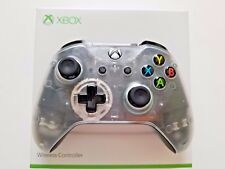 Xbox One S Wireless Microsoft CLEAR Controller.... Brand NEW with Bluetooth