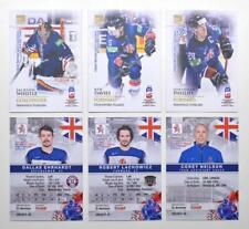 2019 BY cards IIHF World Championship Team Great Britain Pick a Player Card