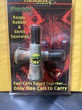 Cherokee Sports Raspy Rabbit & Shrill Squealer Call Predator Calls New