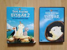 2 Filme Lars der kleine Eisbär der Kinofilm 1 u 2 die geheimnisvolle Insel DVD