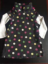 GYMBOREE MERRY AND BRIGHT DRESS 6 Polka dots winter HOLIDAY CHRISTMAS