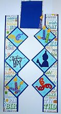BIRTHDAY BOY Party Scrapbook Border Title Scrapbooking album Creative Celebrate