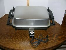 West Bend Lektro Miracle Maid Electric Skillet 13669  USA