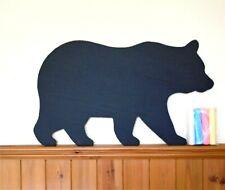 Bear shaped chalkboard- blackboard chalks memo board message board kitchen lists
