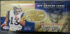 2000 LEAF CERTIFIED NFL FOOTBALL HOBBY BOX 18 PACKS TOM BRADY ROOKIE NEW