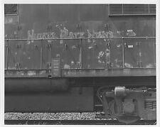 VV735 RP 1970s?80s? NKP NICKEL PLATE RAIL ROAD TRAIN ENGINE BUFFALO NY