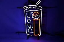 """New Pepsi Cake Soft Drink Beer Pub Neon Sign 17""""x14"""""""