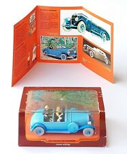 VOITURE CAR TINTIN SERIE 2 ATLAS N°6 LA LINCOLN TORPEDO LES CIGARES DU PHARAON