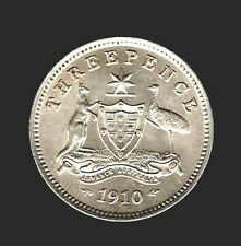 1910    THREEPENCE COIN  -   UNCIRCULATED CONDITION..