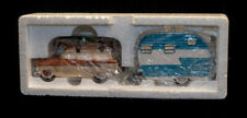 Dept. 56 Snow Village On The Road Again Nib Set Of Two