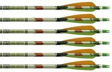 1 Dozen Easton XX75  1916 Camo Hunter Arrows with vanes New